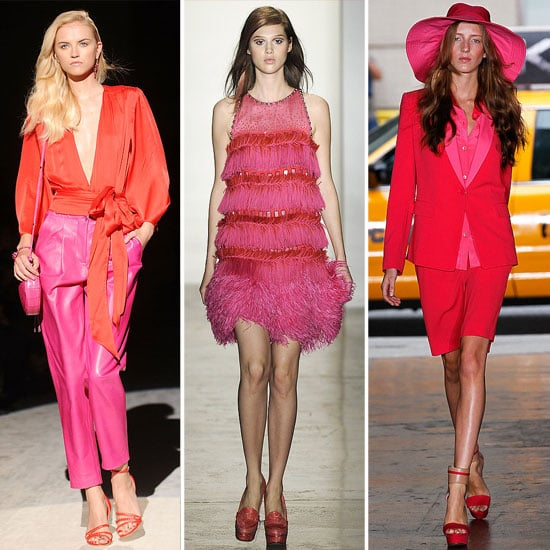 Spring 2012 Cool Colour Combo: Red + Pink