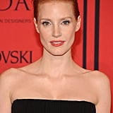 With her flawless skin and red-tinged lips, Jessica Chastain was the ultimate in classiness at the CFDA Fashion Awards.