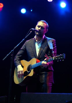 Review of David Gray Gig at Brighton Dome on Monday 25 February 2008