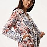 Loft Floral Patchwork Jacket