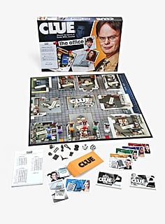 Hot Topic Has an Office-Themed Clue Board, and Michael Scott Is Already My Top Suspect