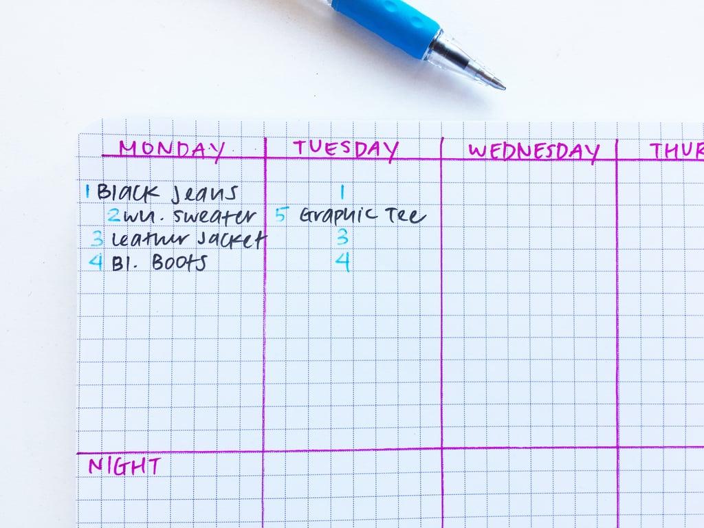 Create A Travel Checklist.