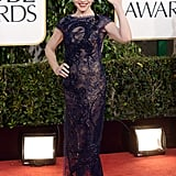 Julianna Margulies — mom to Kieran, 4 — was a mama who showed off her sexy side in a purple Naeem Khan gown.