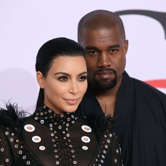 Kanye Styles Kim in Lingerie