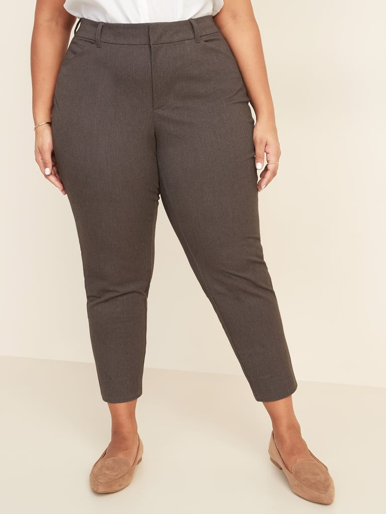Old Navy Mid Rise Secret Slim Pockets Plus Size Pixie Chinos