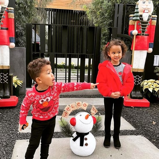 Chrissy Teigen's 2020 Holiday Photos of Miles and Luna