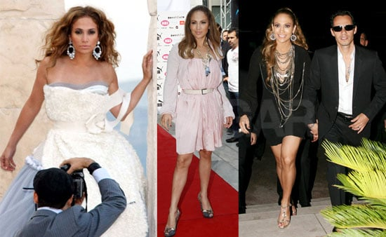 Photos of Jennifer Lopez at a Photo Shoot in Athens, Greece