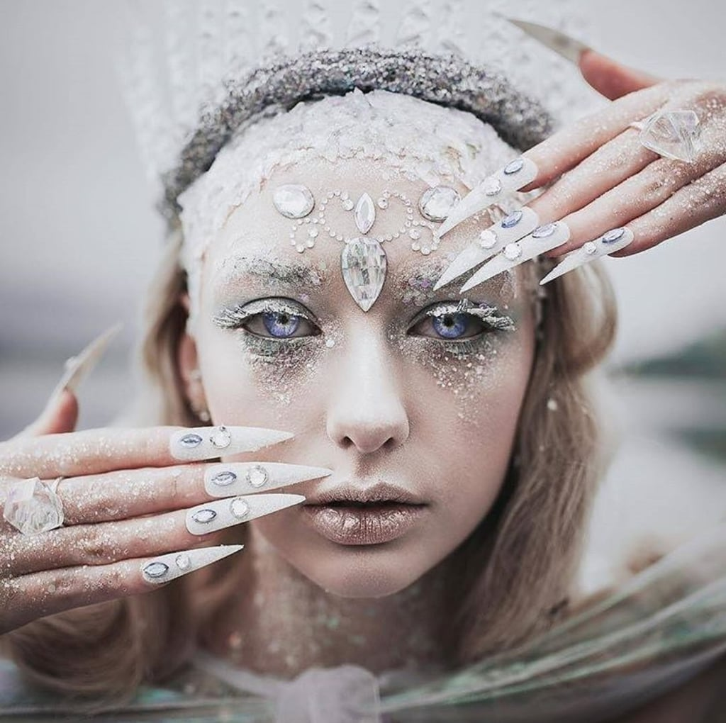 ice queen halloween makeup ideas