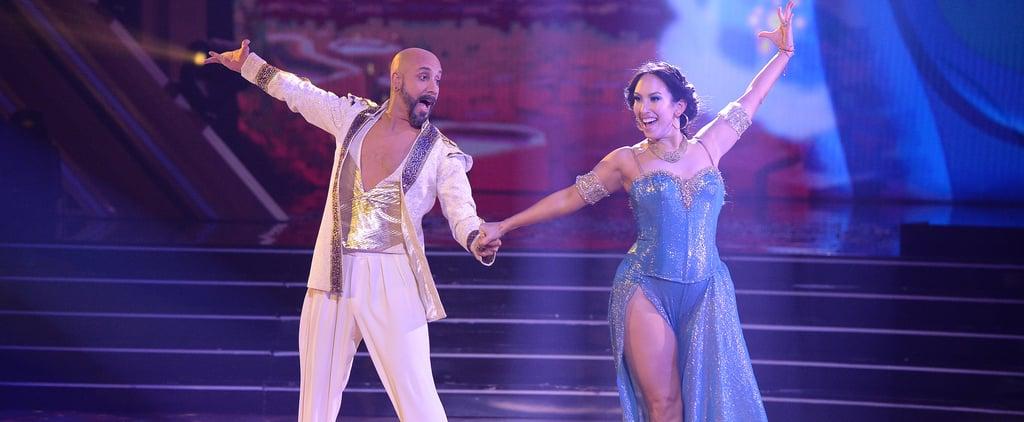 Watch AJ McLean's Aladdin Performance on DWTS Disney Night