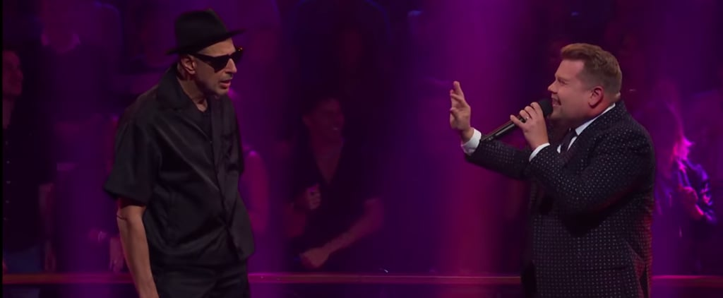 James Corden and Jeff Goldblum Drop the Mic Video