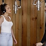 She Collaborated With Lin-Manuel Miranda . . .