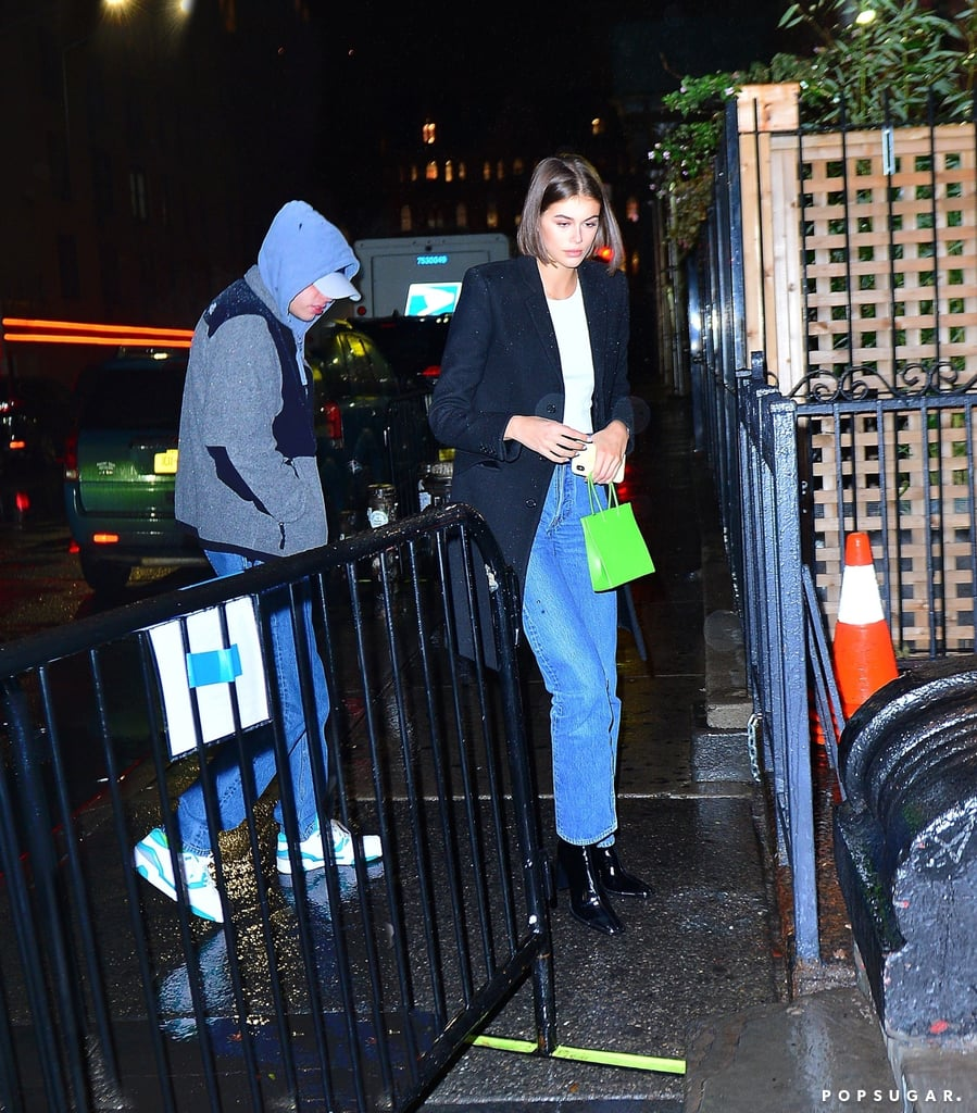 Pete Davidson and Kaia Gerber Kissing at NYC Concert Photos