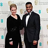 Alice Eve and John Boyega, 2015