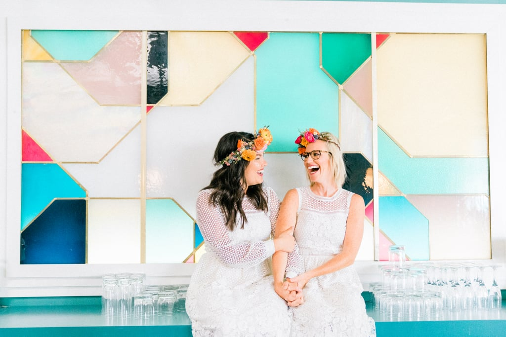 Colorful LA Wedding
