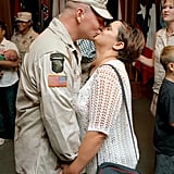 US Army Military Policeman Marc Runge and his wife, Valerie, shared a sweet kiss after a welcome home and award ceremony on July 26, 2002, at Fort Polk, LA, following seven months of deployment.