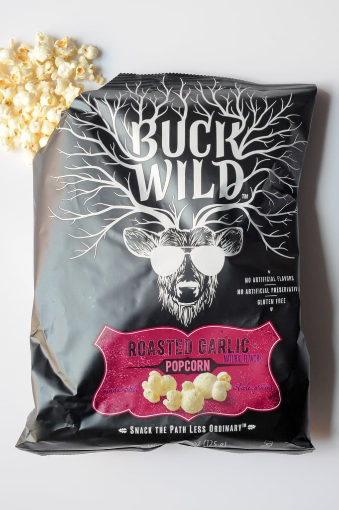Buck Wild Roasted Garlic Popcorn