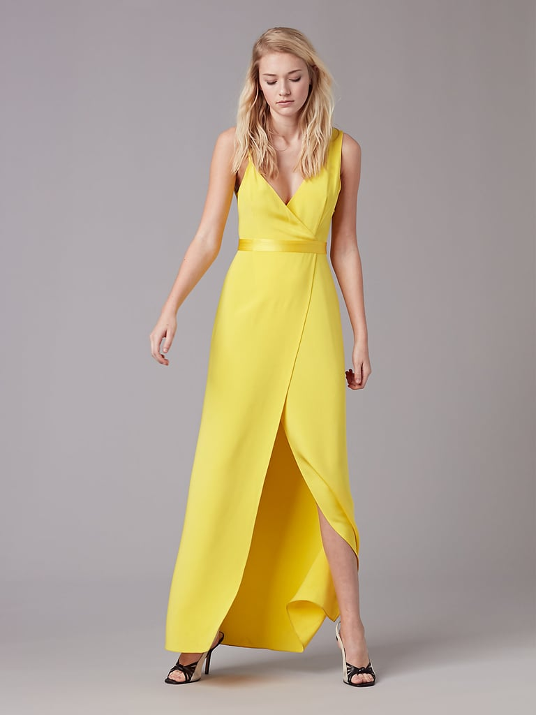 Diane von Furstenberg Gown | Yellow Dresses on the Runway Spring ...