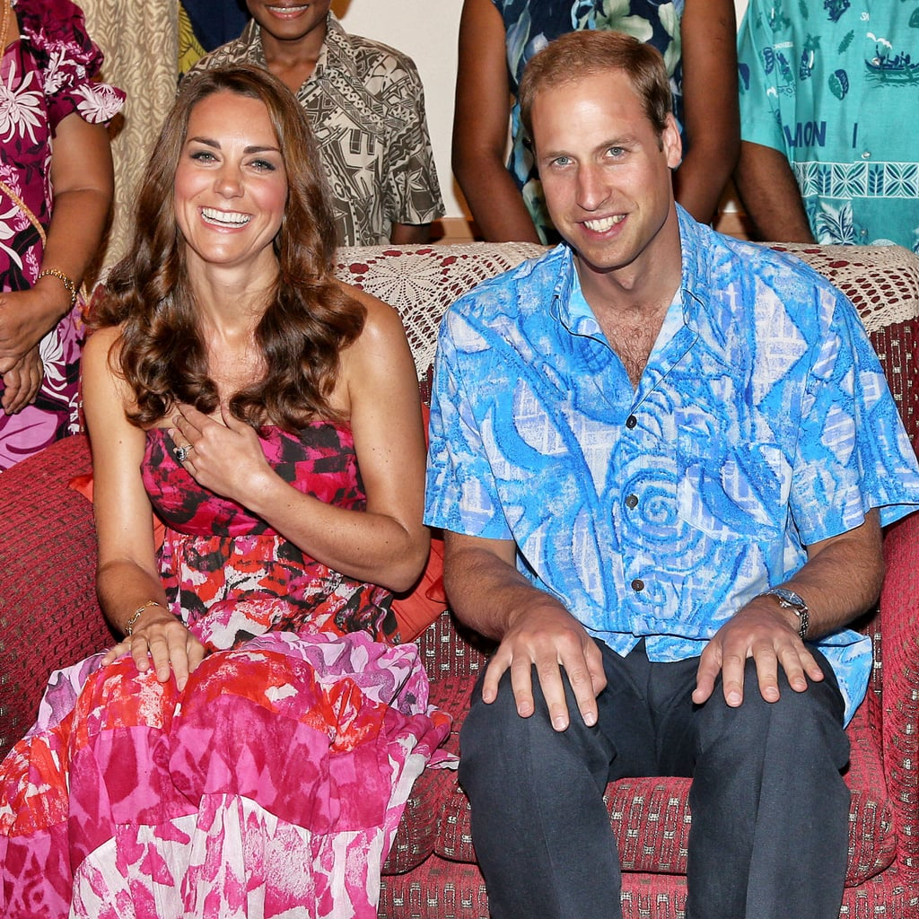 Here's a Look at Will and Kate's Island-Inspired Outfits Back in 2012