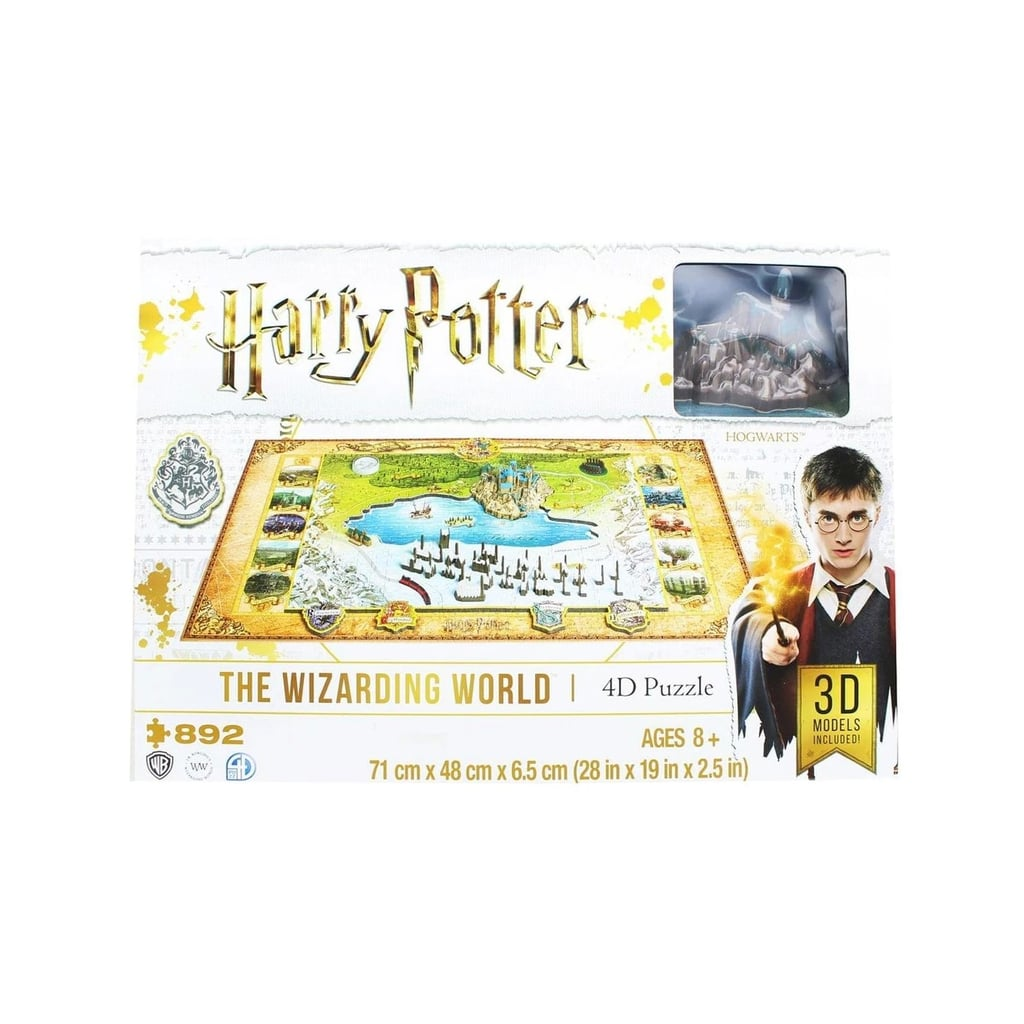 Harry Potter Wizarding World 4D Puzzle