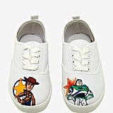 Disney Pixar Toy Story Woody and Buzz Lace-Up Sneakers