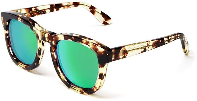 Wildfox Couture Classic Fox Wayfarer Mirror Sunglasses ($179)