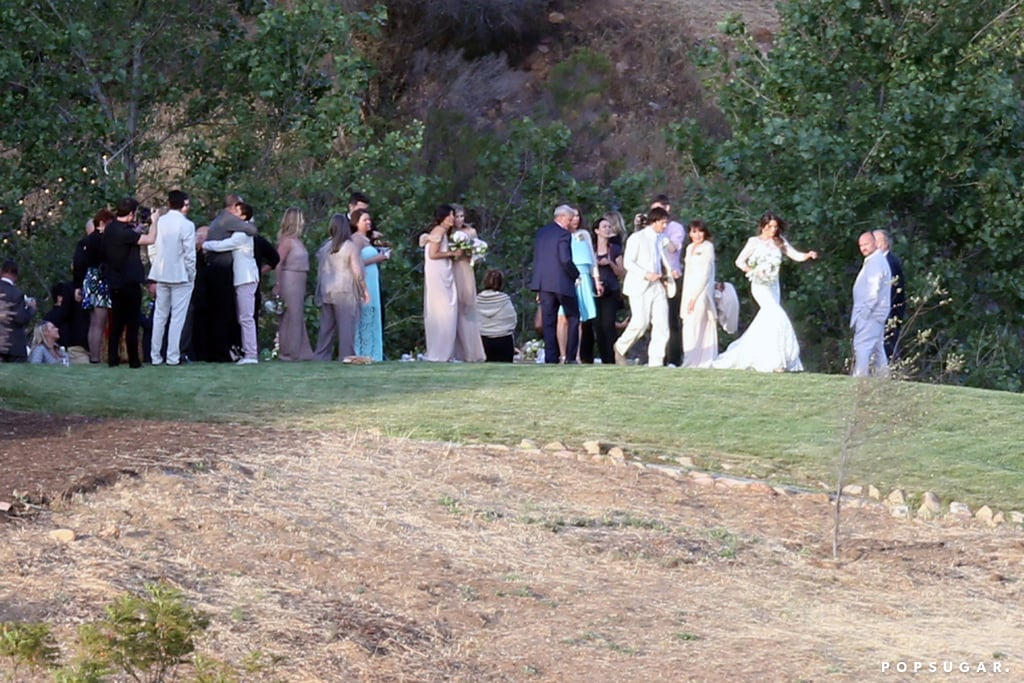 Ian somerhalder and nikki reeds wedding pictures popsugar relive ian somerhalder and nikki reeds breathtaking wedding junglespirit Images