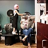 Alivia, 7, Hairstylist