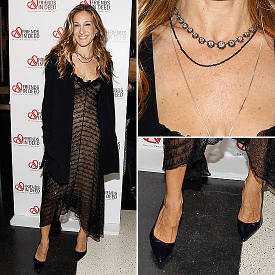 Sarah Jessica Parker at Friends in Deed Gala 2011