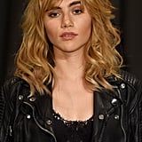 Suki Waterhouse at Burberry