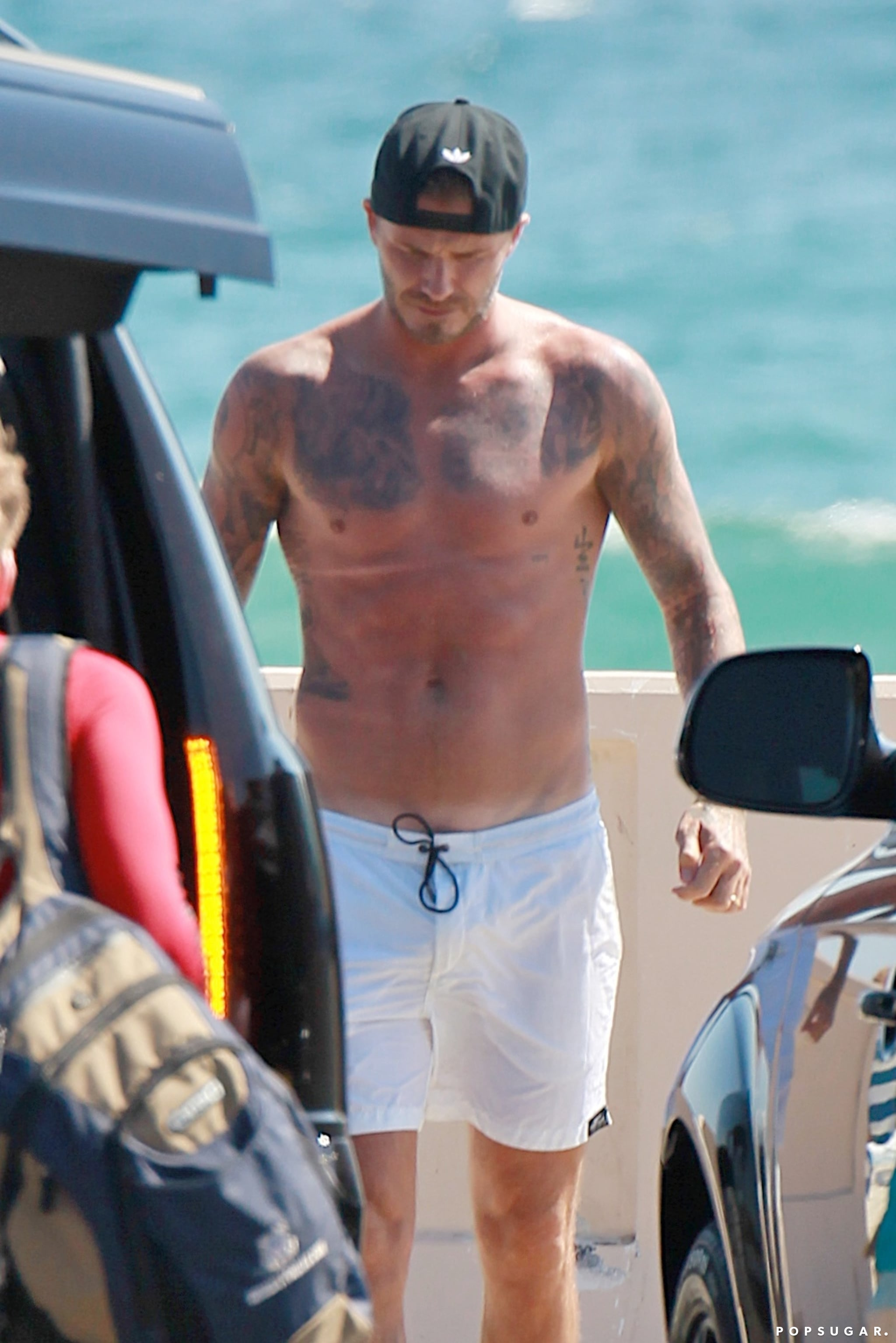 David Beckham Is Still a Superhot Dad