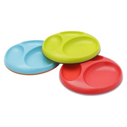 Is that a Frisbee or a dinner plate?! Boon's three-pack of multicolored saucers ($14) boast a nonslip grip for tiny hands to clutch.
