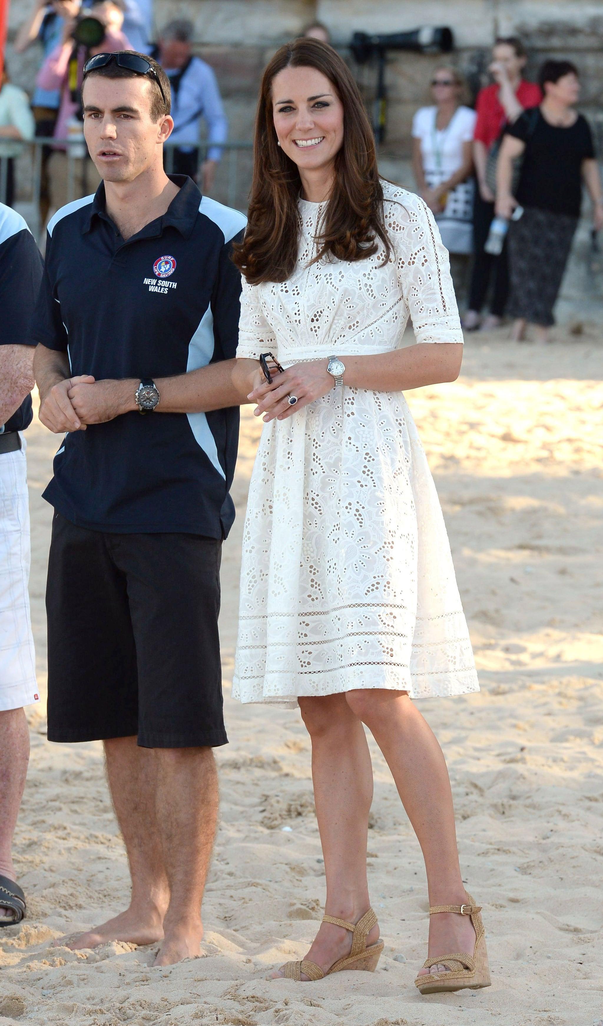Kate Middleton Wearing Zimmermann Dress