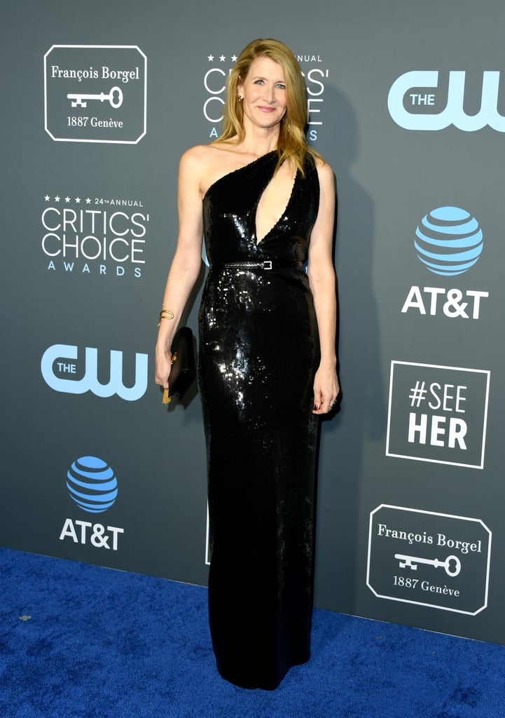 Laura Dern at the 2019 Critics' Choice Awards
