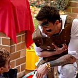 Michael Stole the Show With the Fairy Tales He Told the Kids
