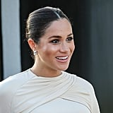 Meghan Adds Eyeliner For a Special Occasion