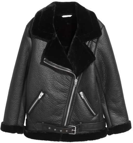 H&M Oversized Biker Jacket