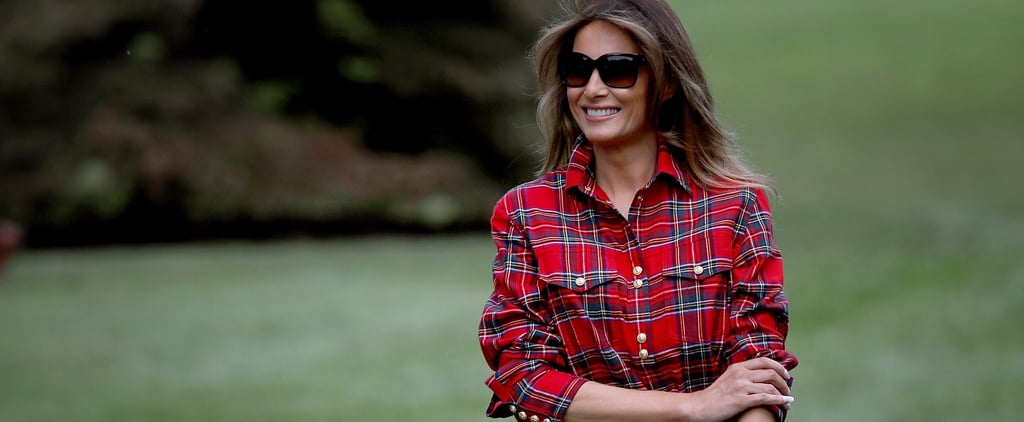 Melania Trump's Gardening Shirt Is Just Shy of $1,500 — and the Backlash is Building