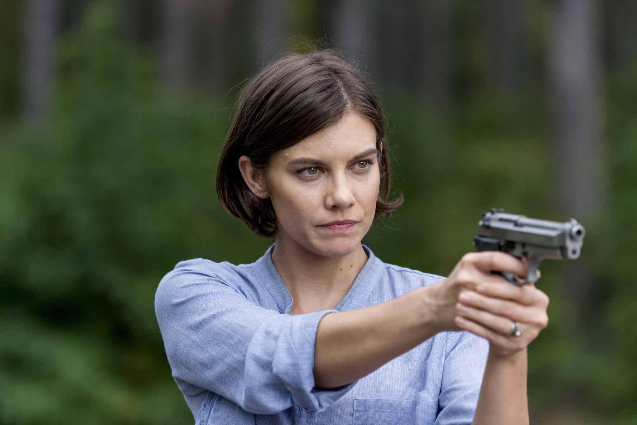 Lauren Cohan as Maggie Greene - The Walking Dead _ Season 8, Episode 12 - Photo Credit: Gene Page/AMC