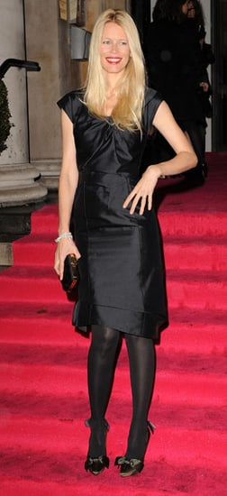 Claudia Schiffer in Louis Vuitton Announces Plans to be Face of YSL