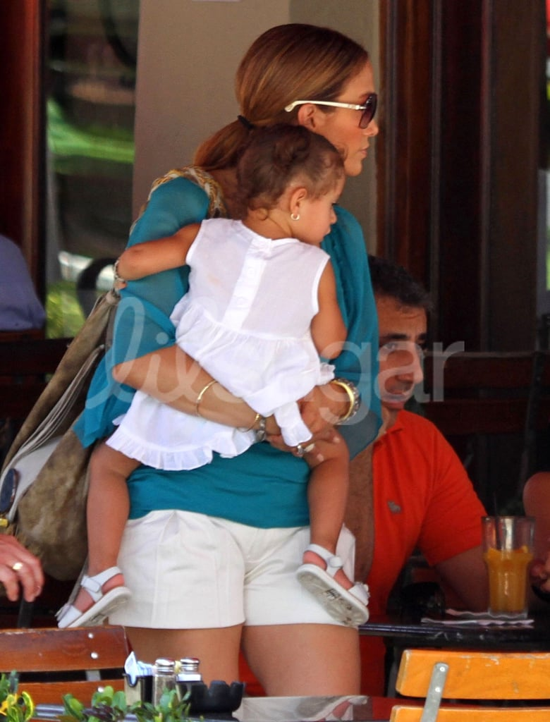 photos of jennifer lopez, max anthony and emme anthony