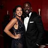 Pictured: Gina Rodriguez and Sterling K. Brown