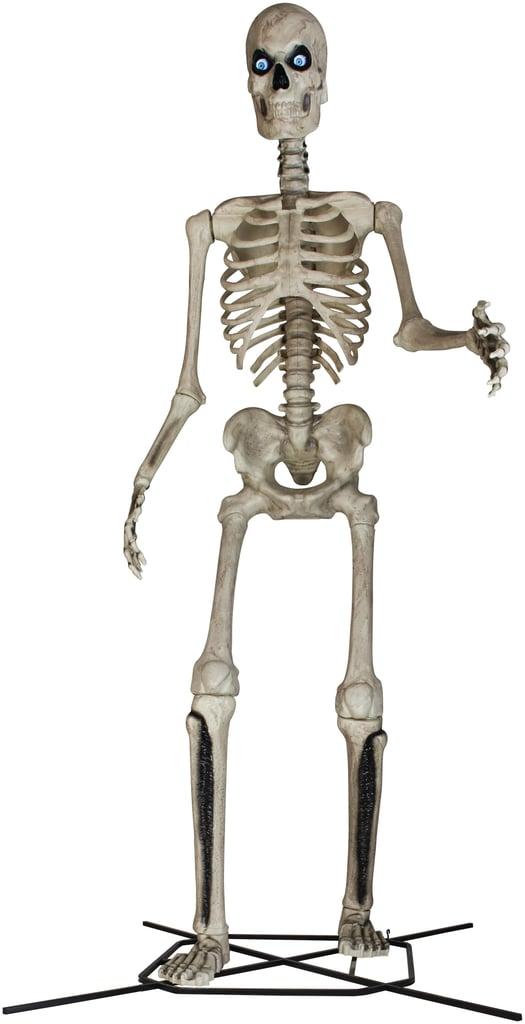 12-Foot Giant-Sized Skeleton With Life Eyes