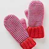Colorblocked Mittens