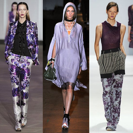 New York Fashion Week Spring 2012 Trends: Purple