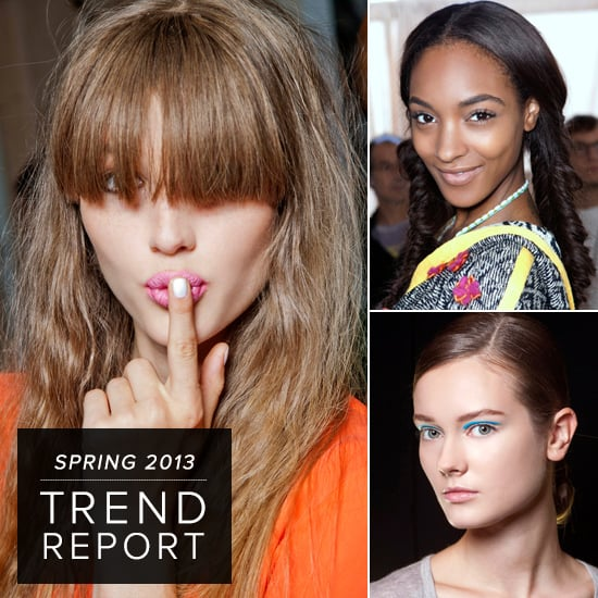 Spring's Hottest Hair, Makeup, and Nail Trends From the Runways