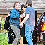 Photos of Penelope Cruz and Javier Bardem with Sean Penn