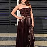 Tina Fey at the 2019 Vanity Fair Oscars Party