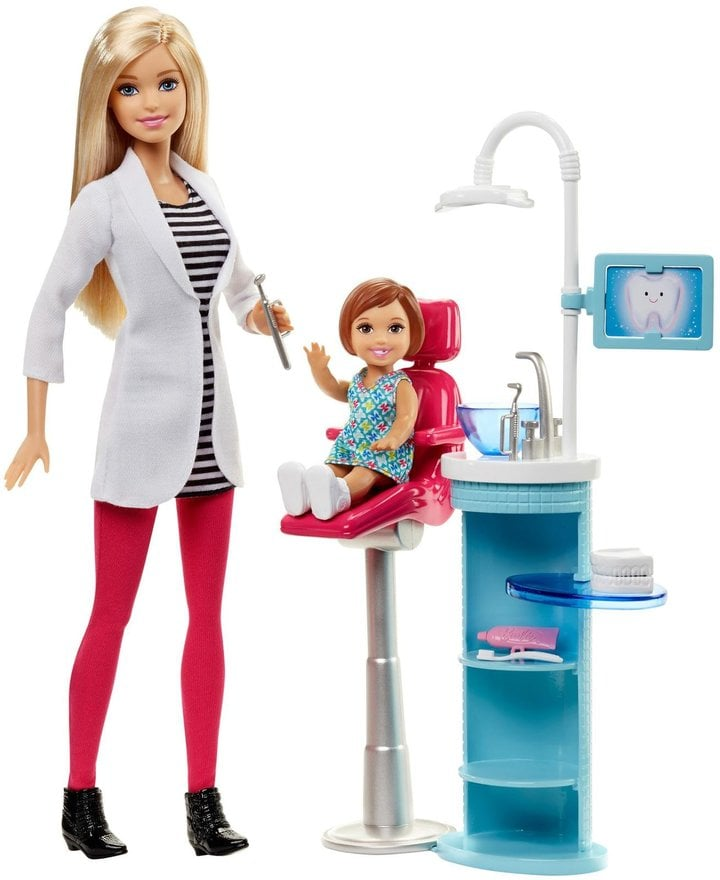 Barbie Careers Dentist Playset Doll Barbie Doll Gift Ideas Popsugar Middle East Family Photo 14
