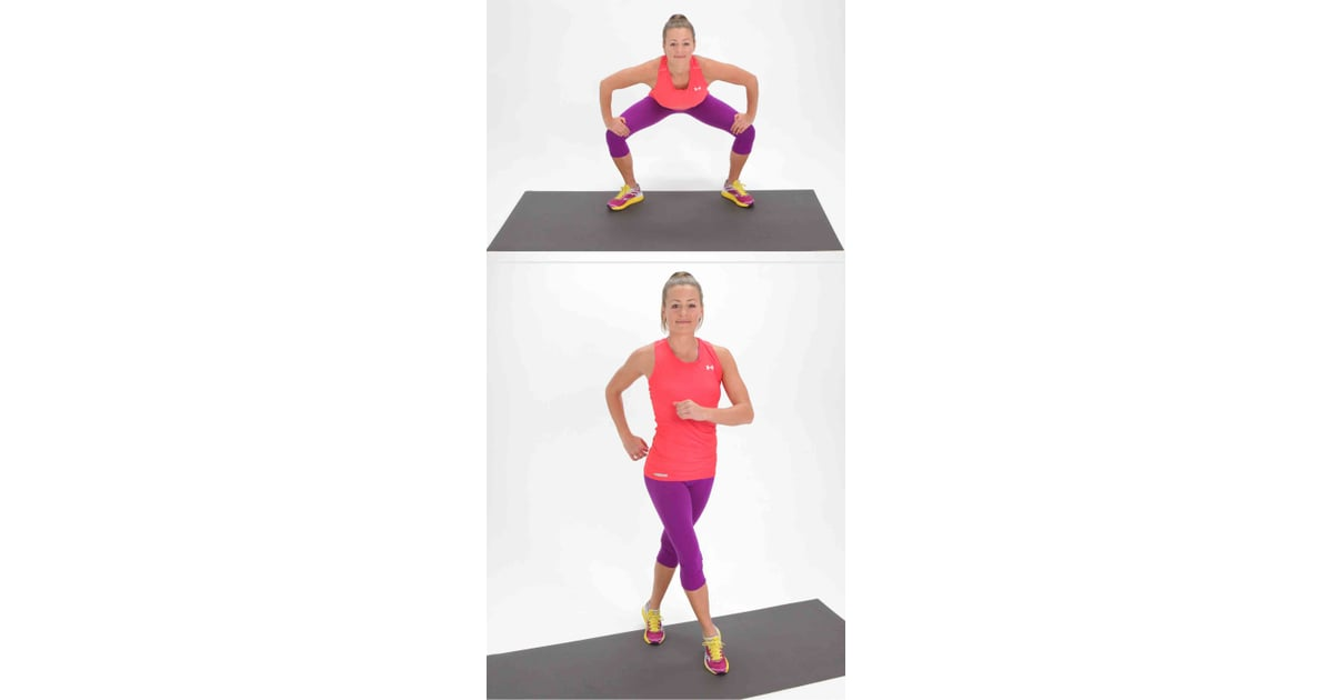 Gate swings with cross inner thigh exercises popsugar
