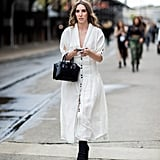 Wear Your Favorite White Dress With Ankle Boots